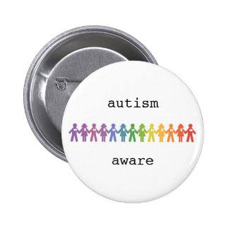 Autism Awareness Badge 2 Inch Round Button