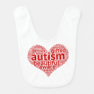Autism Awareness Bib