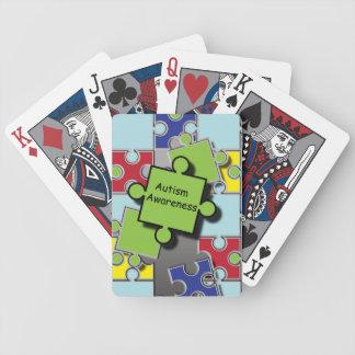 Autism Awareness Bicycle Playing Cards