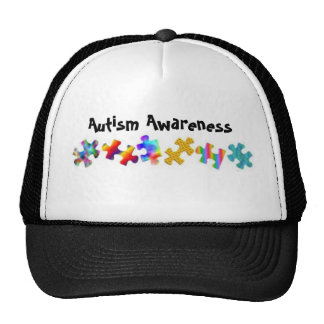 Autism Awareness (Black/White) Trucker Hat