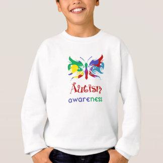 Autism Awareness Butterfly Sweatshirt