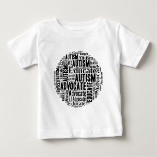 Autism Awareness Circle Design GoTeamKate Baby T-Shirt