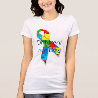 Autism awareness Different not Less t-shirt