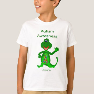 Autism Awareness Dinosaur T-Shirt