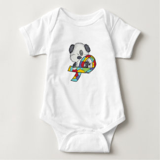 Autism Awareness Dog Baby Bodysuit