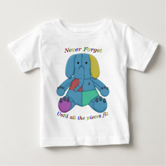 Autism Awareness Elephant Baby T-Shirt