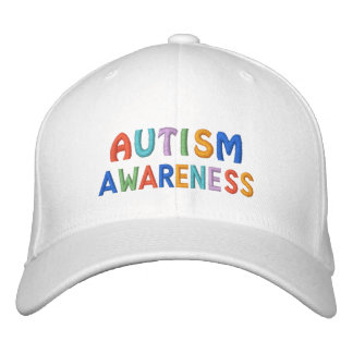 Autism Awareness Embroidered Hat