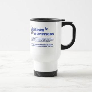 Autism Awareness (facts about Autism) Travel Mug