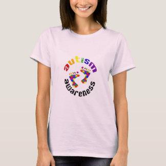 Autism Awareness Footprints T-Shirt