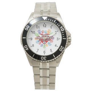 Autism Awareness for my Brother Wristwatches