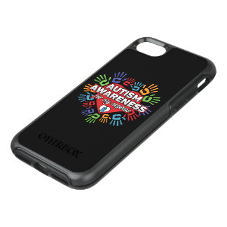 Autism Awareness for my Nephew OtterBox Symmetry iPhone 7 Case