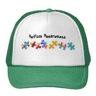 Autism Awareness (Green/White) Trucker Hat