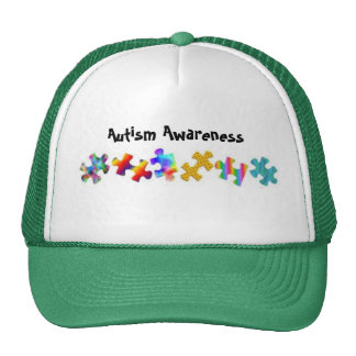 Autism Awareness (Green/White) Trucker Hat