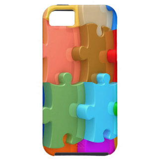 Autism Awareness iPhone5 Case 3D Multicolor Puzzle