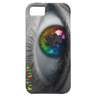 Autism Awareness iPhone 5 Case Multicolor Eye