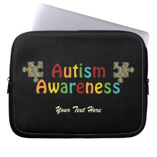 Autism Awareness Laptop Sleeve (customizable)