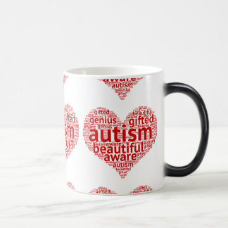 Autism Awareness Love Magic Mug