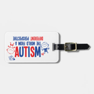 Autism Awareness Luggage Tag