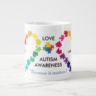 Autism Awareness Matters Large Coffee Mug