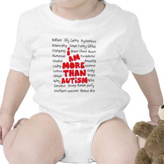 Autism Awareness -More than Autism Bodysuit