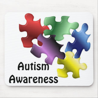 Autism Awareness Mouse Pad