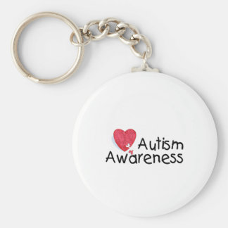 Autism Awareness (P Hrt 2) Keychain