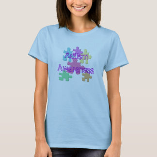Autism Awareness Pastel T-Shirt