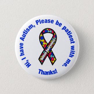 Autism Awareness Pin / Button Badge
