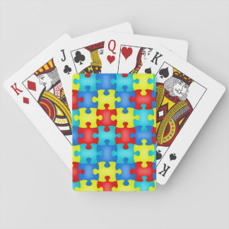 Autism Awareness Playing Cards Deck of Cards