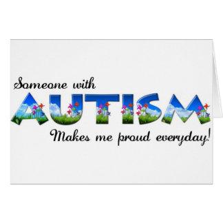 Autism Awareness pride Card