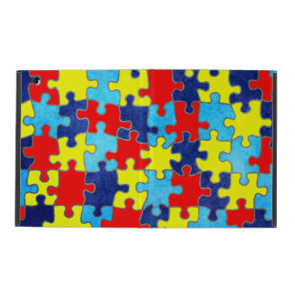 Autism Awareness-Puzzle by Shirley Taylor iPad Cover