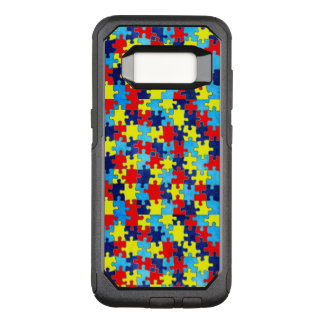 Autism Awareness-Puzzle by Shirley Taylor OtterBox Commuter Samsung Galaxy S8 Case