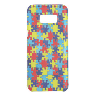 Autism Awareness-Puzzle by Shirley Taylor Uncommon Samsung Galaxy S8 Plus Case