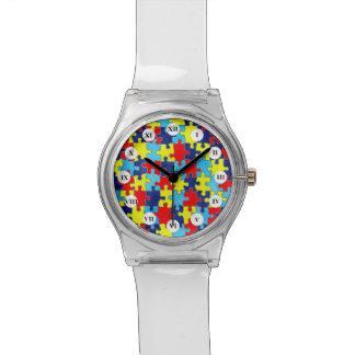 Autism Awareness-Puzzle by Shirley Taylor Watch