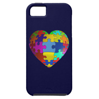 Autism Awareness Puzzle Heart iPhone 5 Covers