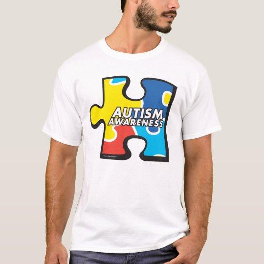 Autism Awareness Puzzle Piece T-shirt