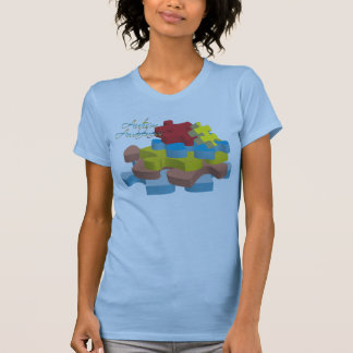 Autism Awareness Puzzle Pieces TShirt