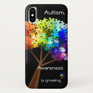 Autism Awareness Puzzle Tree Smart Phone Case