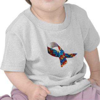 Autism Awareness Ribbon Tshirts