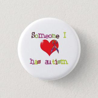 Autism Awareness Round Button