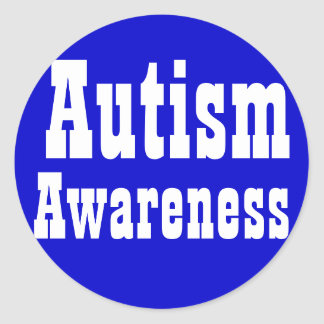Autism Awareness Sticker