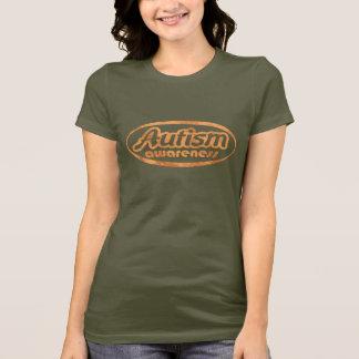 Autism Awareness T-Shirt (Oval-DO)