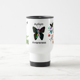 Autism Awareness travel mug
