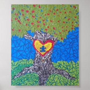 Autism Awareness Art Amp Wall D 233 Cor Zazzle Ca