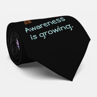 Autism Awareness Tree & Puzzle Tie
