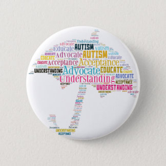 Autism Awareness Umbrella Products 2 Inch Round Button