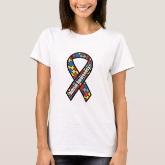 Autism Awareness Women's White T-Shirt