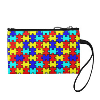 Autism Awarenss Coin Purse