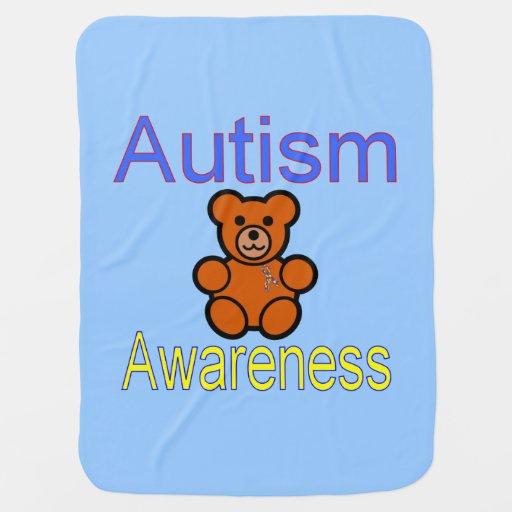 Autism baby blanket