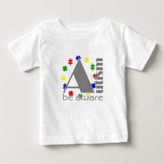 Autism be aware baby T-Shirt